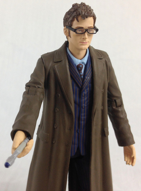 Action Figure - 10th DOCTOR (Coat) - Unpackaged