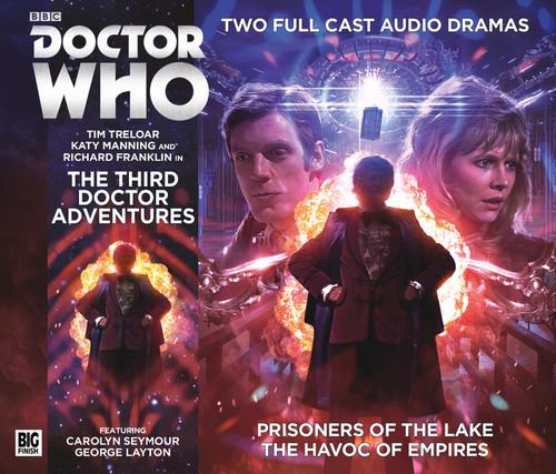 Third Doctor Adventures Volume 1 - Big Finish Audio CD