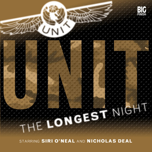 UNIT: The Longest Night 1.3 - Big Finish Audio CD