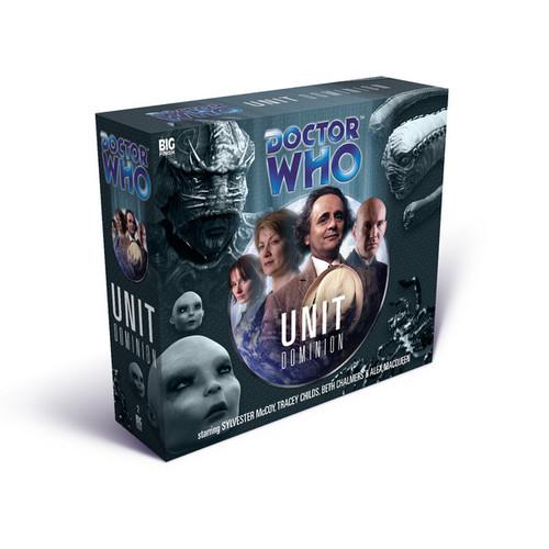 UNIT: Dominion- Big Finish Audio CD
