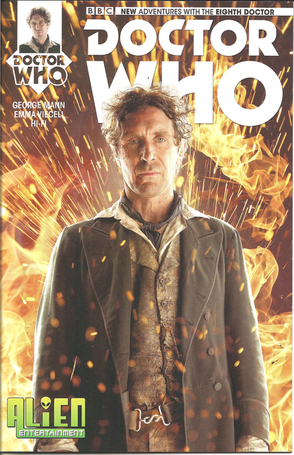 8th Doctor Titan Comics #1 - (Alien Entertainment EXCLUSIVE)