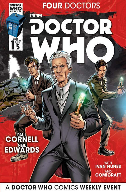 Four Doctors 2015 Event Titan Comics #1 of 5