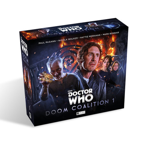 Doctor Who DOOM COALITION Eighth Doctor (Paul McGann) Audio Drama Boxed Set #1 from Big Finish