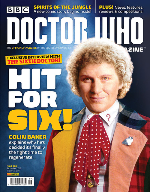 Doctor Who Magazine #489 - Hit for Six!