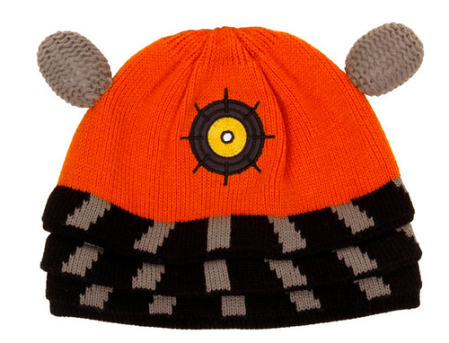 Orange Dalek Beanie