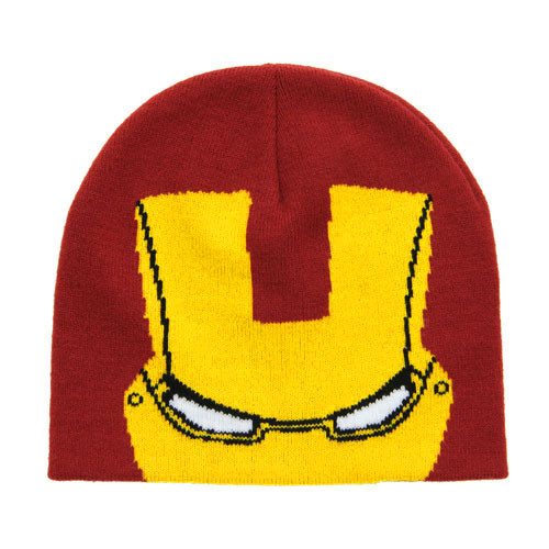 Iron Man Knit Beanie
