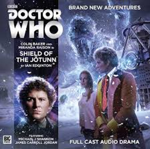 Shield of the Jotunn Audio CD - Big Finish #206
