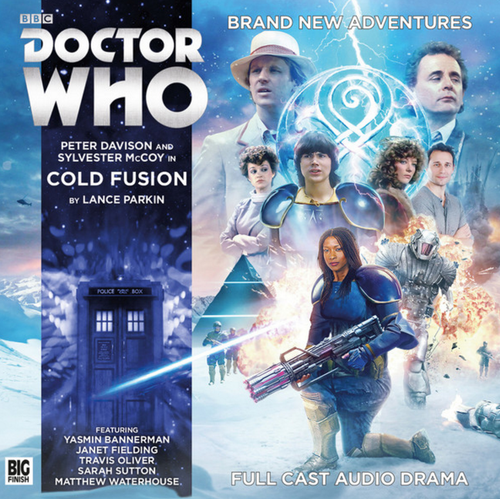 Big Finish Novel Adaptation: Cold Fusion - Audio CD #11