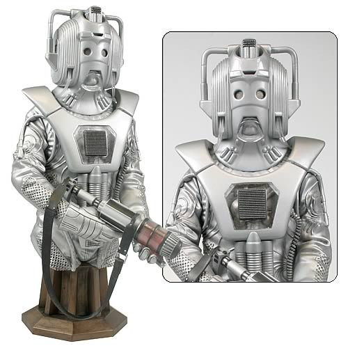 Doctor Who Masterpiece Collection Bust - Earthshock Cyberman
