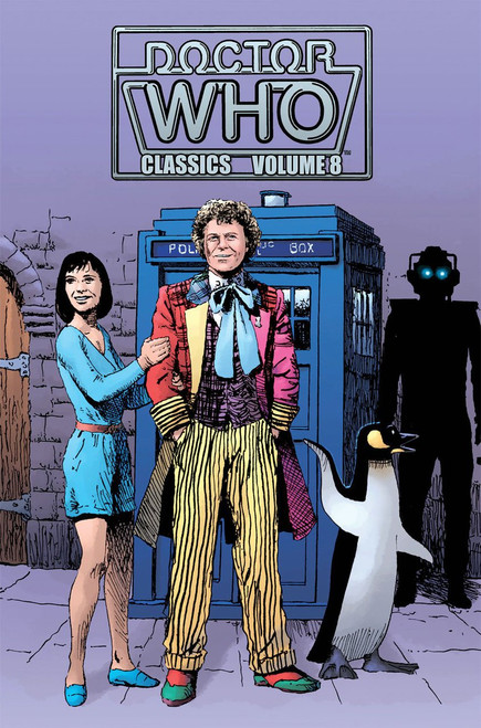 Doctor Who Classics Volume 8 IDW Graphic Novel (6th Doctor)