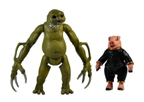 Slitheen and Space Pig - Series 1 Action Figure - Character Options