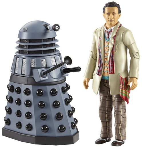 7th Doctor with Dalek - Classic Series- Character Options