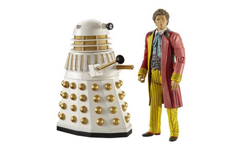 6th Doctor with Dalek - Classic Series- Character Options