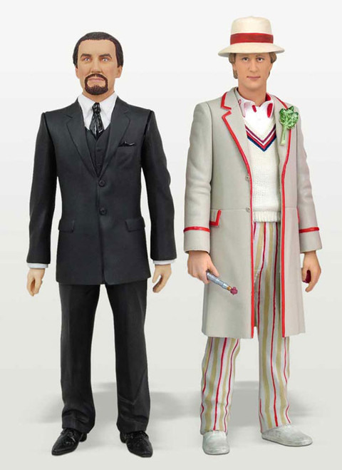 5th Doctor and Master  - Classic Series - Character Options