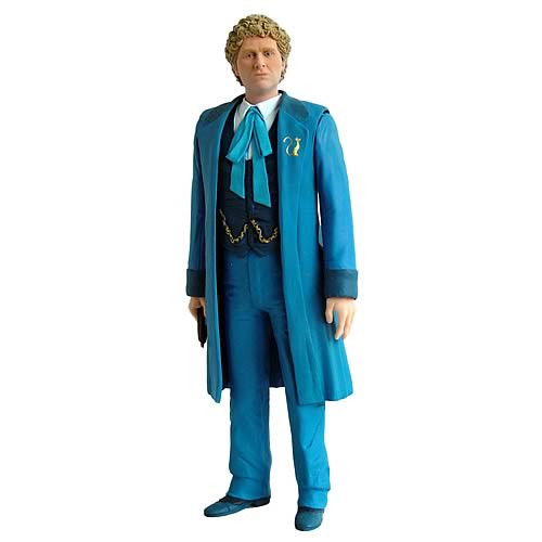 6th Doctor with Blue Outfit  - Classic Series- Character Options