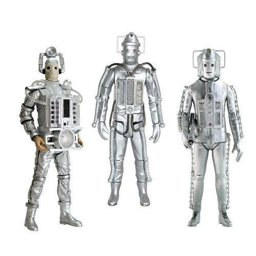 Classic Series CYBERMEN Action  Figure Set of 3 - Character Options
