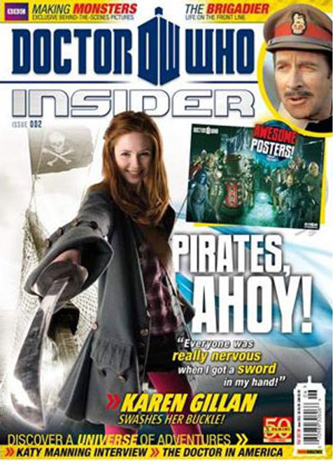 Doctor Who Insider Magazine Issue #2