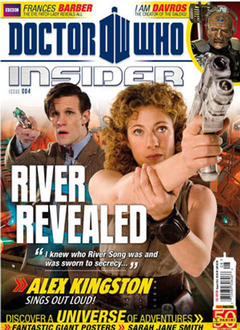 Doctor Who Insider Magazine Issue #4