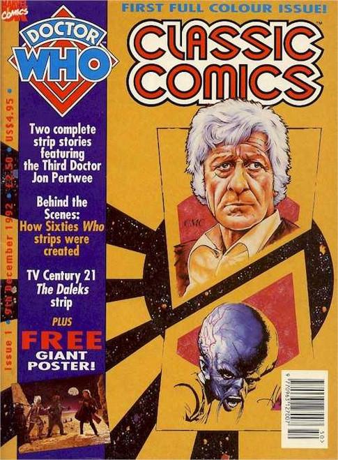 Doctor Who Classic Comics #1