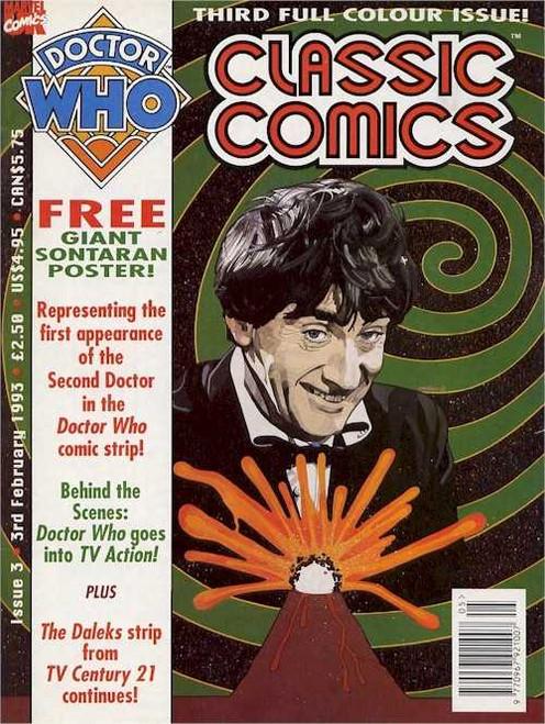 Doctor Who Classic Comics #3