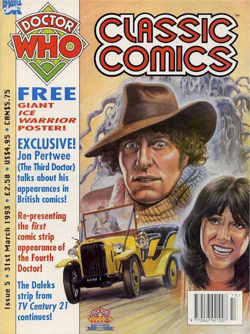 Doctor Who Classic Comics #5