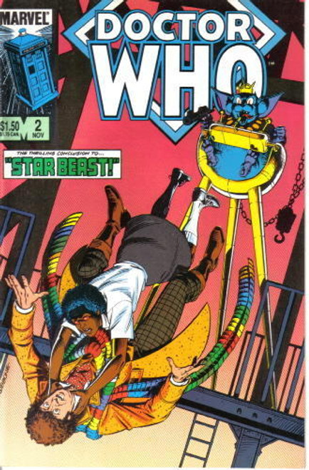 Doctor Who Marvel Comics #2