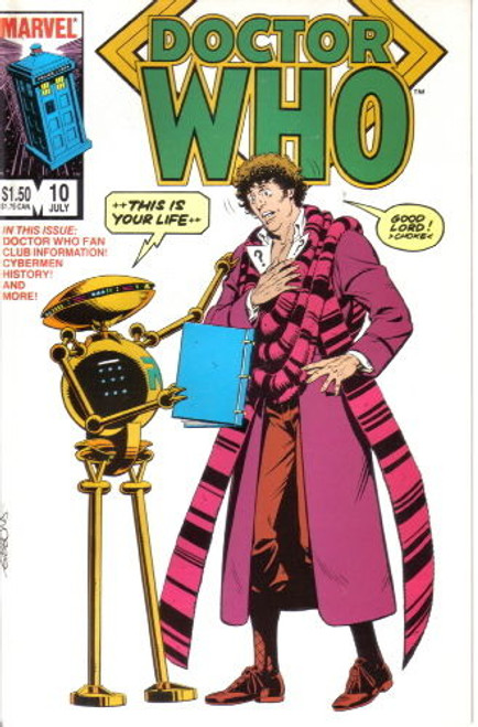 Doctor Who Marvel Comics #10