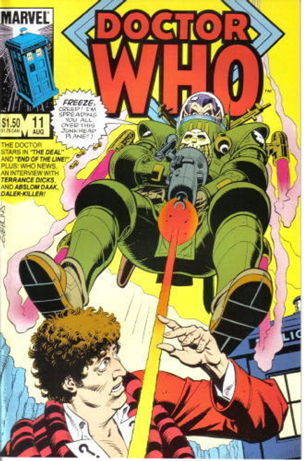 Doctor Who Marvel Comics #11
