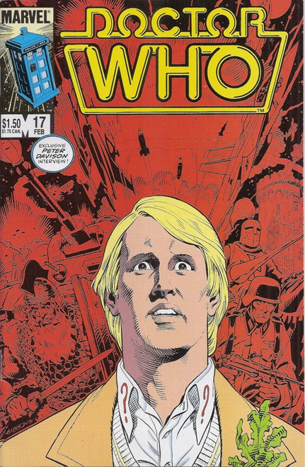 Doctor Who Marvel Comics #17