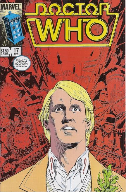 Doctor Who Marvel Comics #17