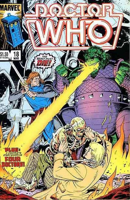 Doctor Who Marvel Comics #18