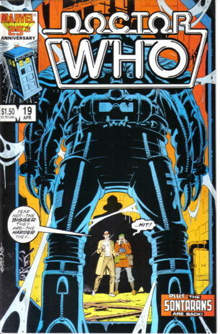 Doctor Who Marvel Comics #19