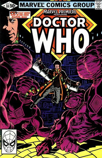 Doctor Who Marvel Premiere Comics #59 (Third Doctor Who appearance in US Comics from 1981)
