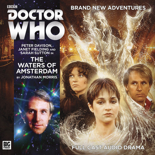 The Waters of Amsterdam Audio CD - Big Finish #208