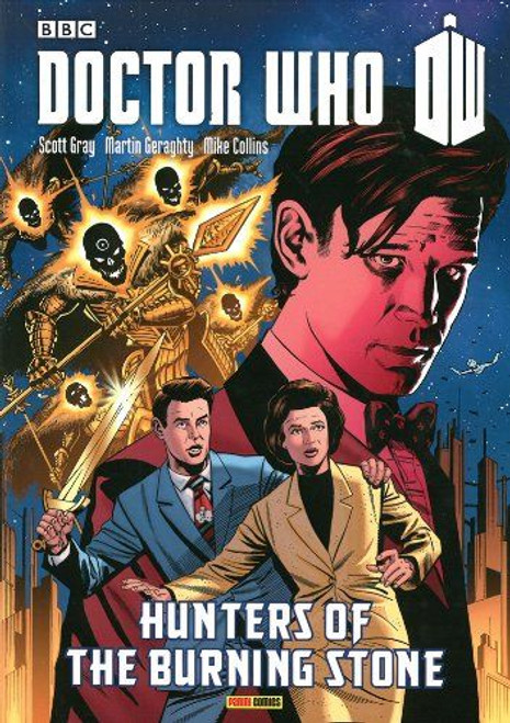 Hunters of the Burning Stone - Graphic Novel - Panini Books