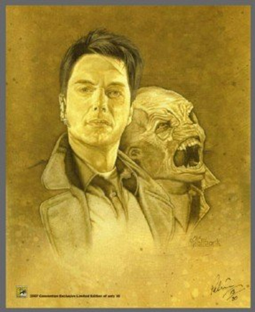Torchwood Exclusive 2007 Comic Con Limited Print