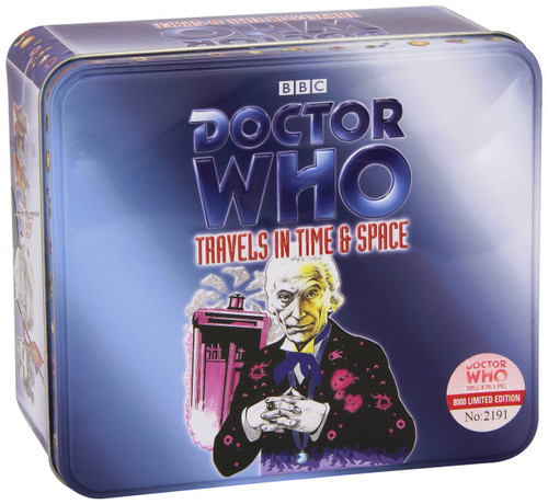 Travels in Time & Space - Set of 3 BBC Audio CDs in Limited Edition Collectible Tin