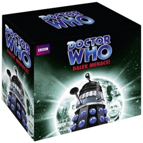 Dalek Menace Boxed Set - BBC Audiobooks - Three stories on 15 CDs