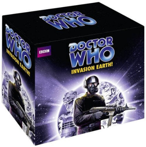 Invasion Earth - BBC Audiobooks - Three stories on 12 CDs
