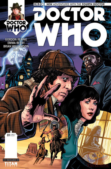 4th Doctor Titan Comics #1
