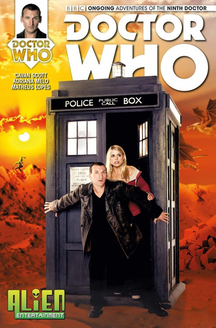Titan Comics Ongoing Adventures of the 9th Doctor #1 - (Alien Entertainment EXCLUSIVE)
