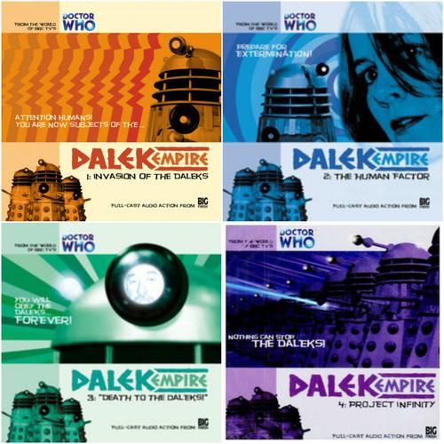 Dalek Empire: Series One Set #1.1-1.4 - Big Finish Audio CDs