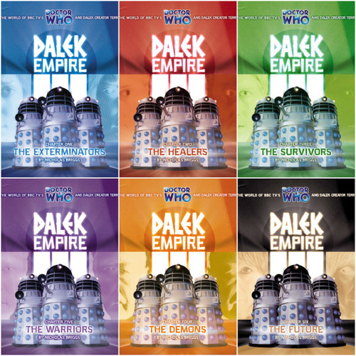 Dalek Empire 3: Series Three Complete Set #3.1 to 3.6 - Big Finish Audio CD