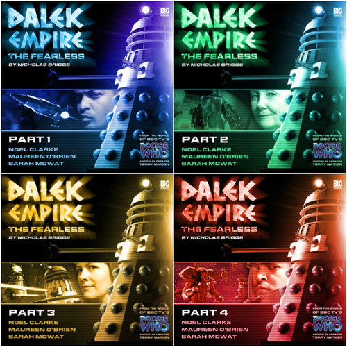 Dalek Empire: Series Four Set #4.1-4.4 - Big Finish Audio CDs