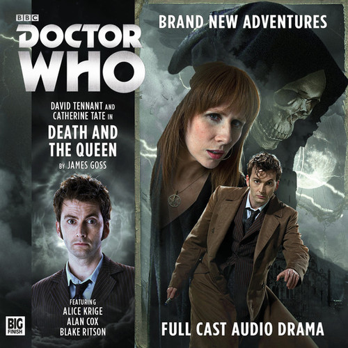 The Tenth Doctor Adventures 1.3 - Death and the Queen Big Finish Audio CD