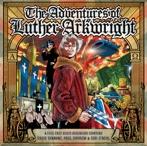 The Adventures of Luther Arkwright (David Tennant) - Big Finish Audio CD Set