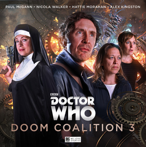 Doctor Who DOOM COALITION Eighth Doctor (Paul McGann) Audio Drama Boxed Set #3 from Big Finish