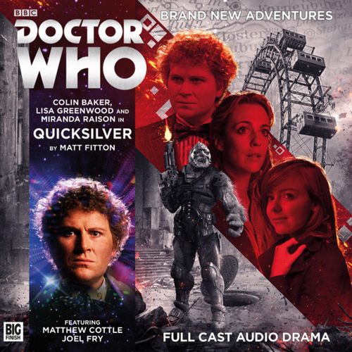 Quicksilver Audio CD - Big Finish #220