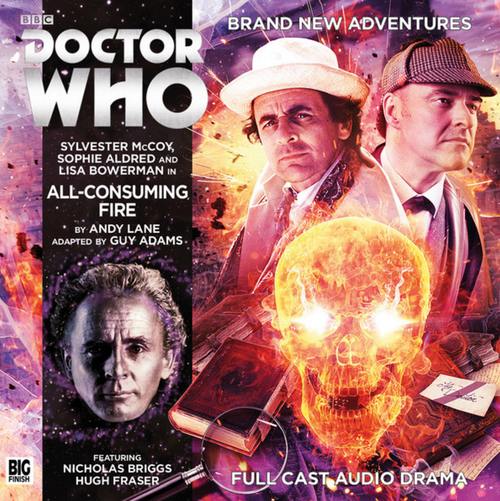 Big Finish Novel Adaptation: All-Consuming Fire - Audio CD #8