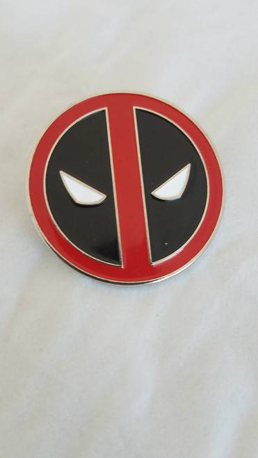 Deadpool Symbol Enamel Pin